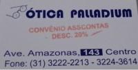 Convênio Ótica Palladium