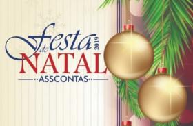 Ingressos esgotados - Festa de Natal Asscontas 2019
