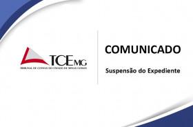 TCEMG suspende expediente nos dias 23 a 27 de março de 2020