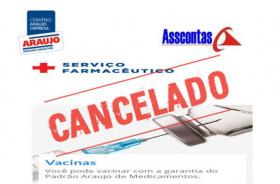 Campanha de Vacinação Cancelada